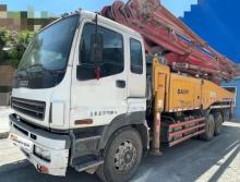 精品出售12年出厂三一五十铃49米泵车(一手车19万方)
