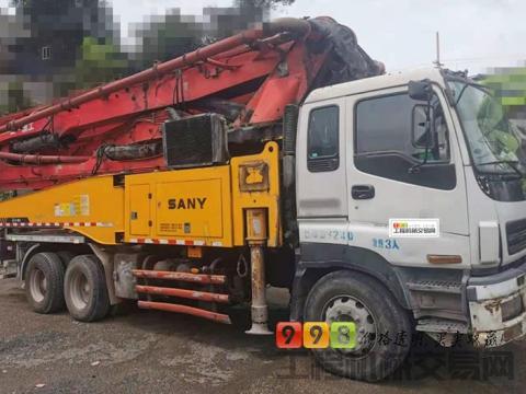 出售13年出厂三一五十铃49米泵车(三桥+叉腿+大排量)