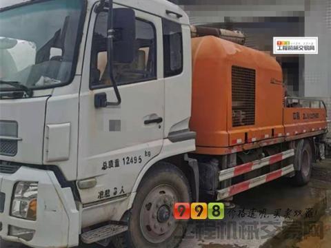 出售14年中联东风底盘9014车载泵(国四)