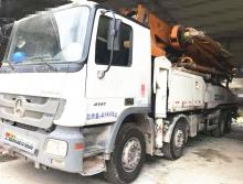 出售13年中联奔驰底盘49米泵车(大排量+开式系统)