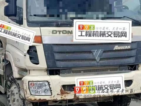 终端出售14年福田欧曼12方搅拌车(国三3台)