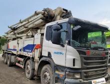 精品出售12年中联斯堪尼亚56米泵车