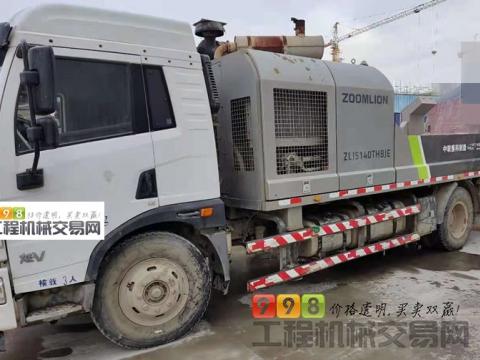 车主精品转让18年中联10022车载泵(国五 道依茨+力士乐黄金搭)