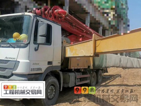 出售2018年三一奔驰底盘49米泵车(国五)