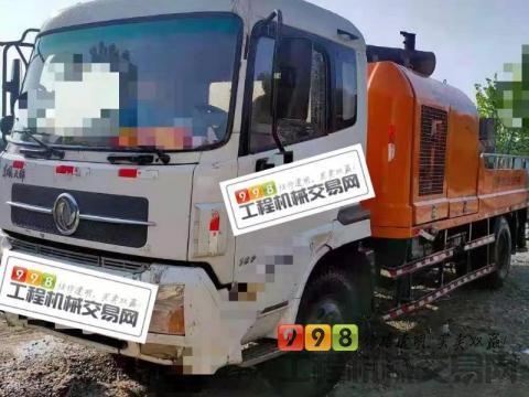 终端出售13年中联东风10018车载泵