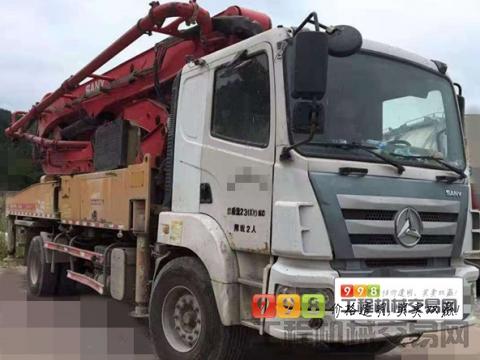 精品出售18年8月三一37米泵车(国五一手车+190油泵)