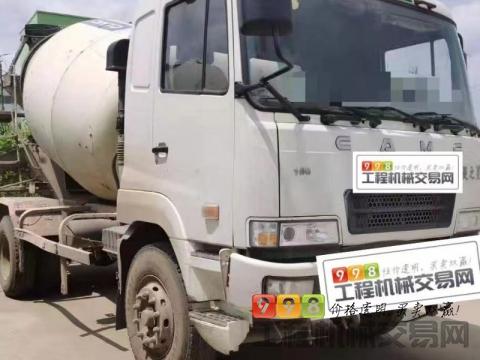 出售15年华菱星马7方搅拌车(国四小方量2台)