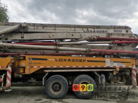 出售13年福田45米泵车