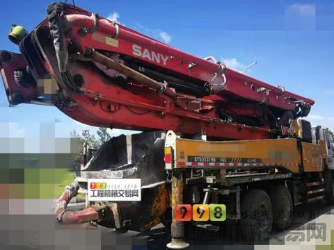 出售11年出厂三一五十铃46米泵车
