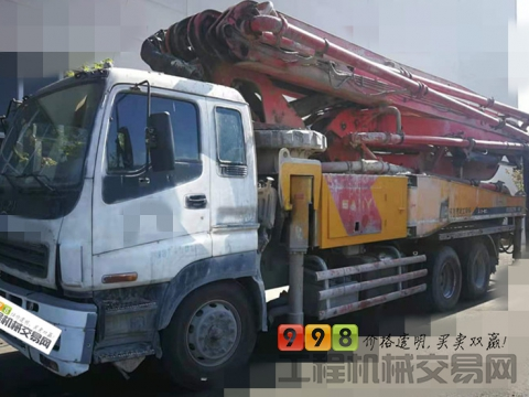 出售12年出厂三一五十铃46米泵车