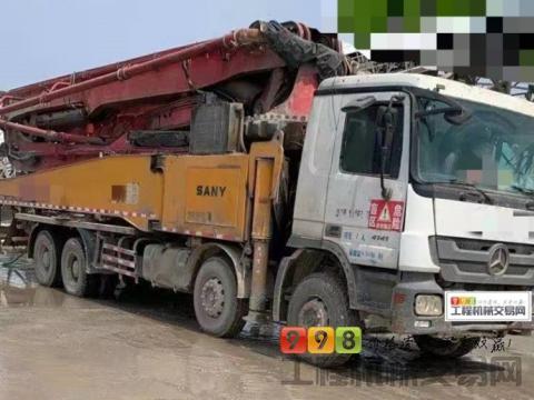 车主精品出售12年出厂三一奔驰52米泵车(6节臂)