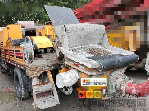 精品出售14年出厂三一10020车载泵(国四)