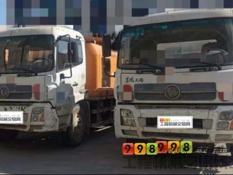 出售13年出厂中联东风10018车载泵