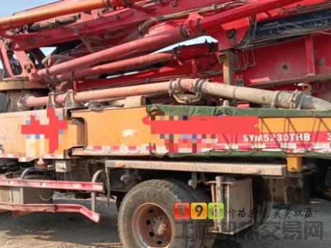 出售2018年出厂三一37米泵车(国五两桥C8)