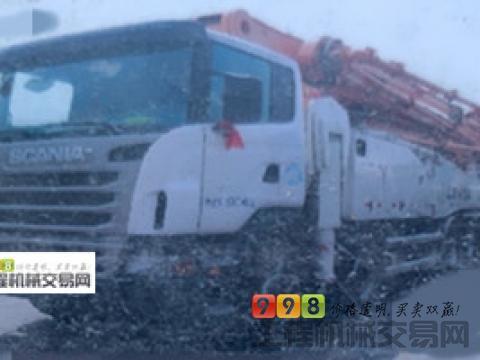 2013年6月中联斯堪尼亚60米泵