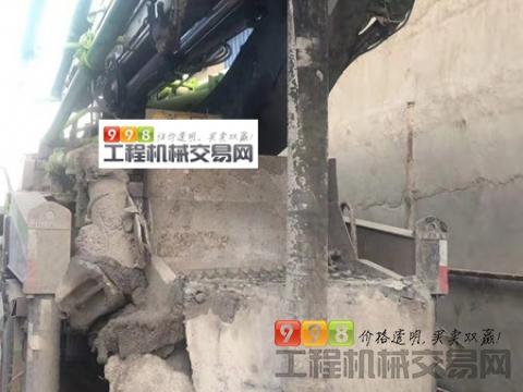 车主转让19年中联斯太尔37米泵车(一手车 国五)