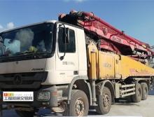车主转让13年徐工奔驰53米泵车(K系列 7节臂)
