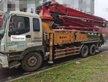 精品出售12年三一五十铃38米泵车