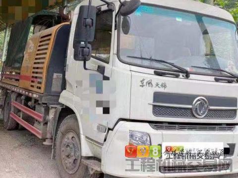精品出售2019年出厂三一东风10020车载泵(国五准新车)