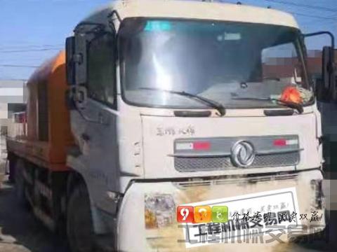 出售14年中联东风底盘10018车载泵(两台)