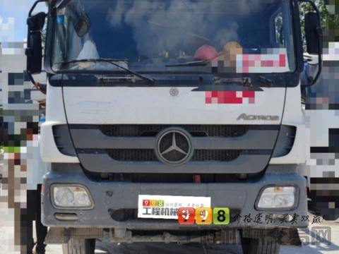 精品出售13年出厂中联奔驰47米泵车