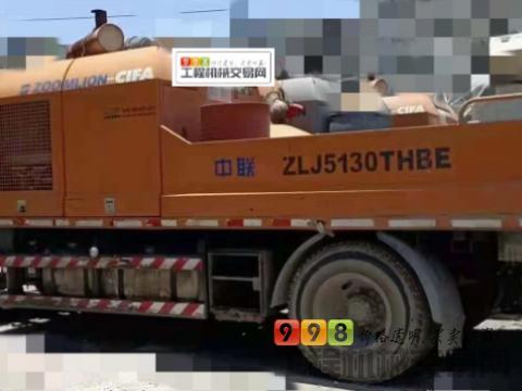 精品出售14年出厂中联东风10018车载泵(国四)
