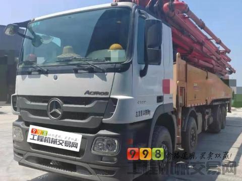 精品准新车出售19年3月出厂三一奔驰56米泵车(全款车)