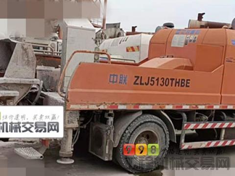 精品出售16年中联10018车载泵(国四+泵送不到十万方)