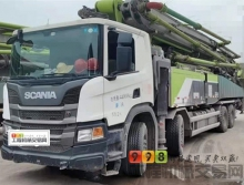准新车出售19年出厂中联斯堪尼亚56米泵车(不到10万方)