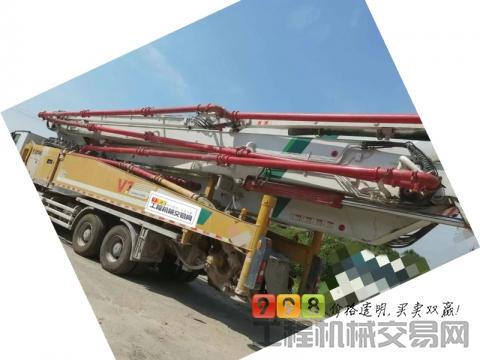 出售19年徐工奔驰62米泵车(国五)