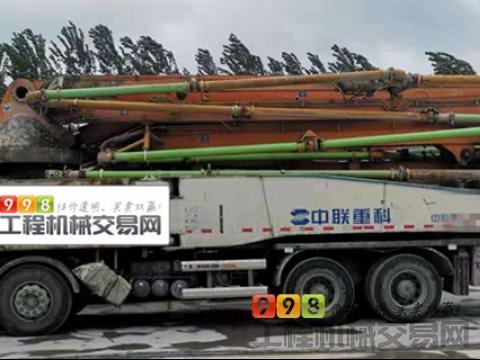 出售14年中联奔驰52米泵车(6节臂 大排量 双油泵)