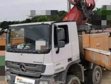 精品出售17年三一奔驰56米泵车