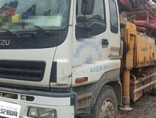 出售11年三一五十铃40米泵车(三桥叉腿)