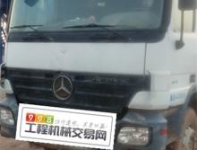 车主转让11年中联奔驰50米泵车(国三绿标)
