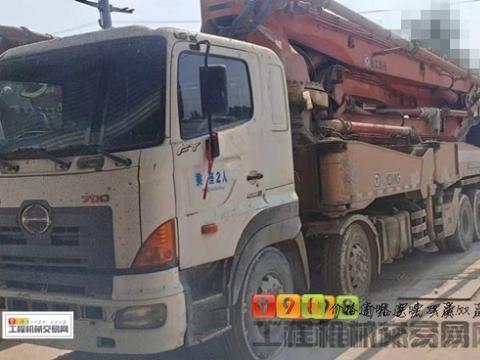 精品转让10年出厂徐工日野48米泵车(随时工地试泵)