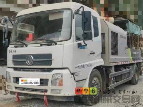 终端精品转让19年11月出厂中联东风10022车载泵(国五准新车工作仅200小时)