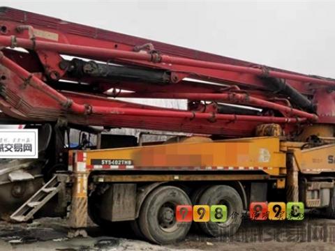出售10年出厂三一沃尔沃46米泵车