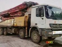 个人精品转让11年出厂三一奔驰48米泵车(干活车)