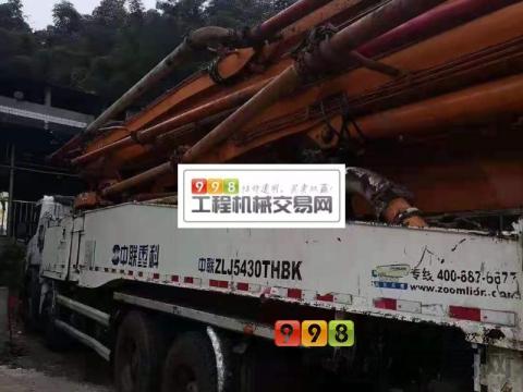 出售14年10月中联斯堪尼亚56米泵车
