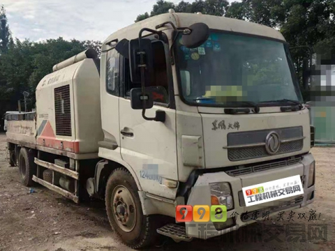 精品出售11年出厂中联东风9014车载泵