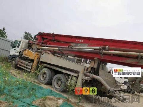 转让2007年三一五十铃37米泵车