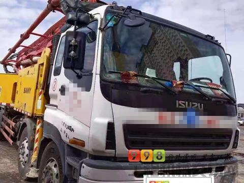 精品出售11年三一五十铃48米泵车(北方车)
