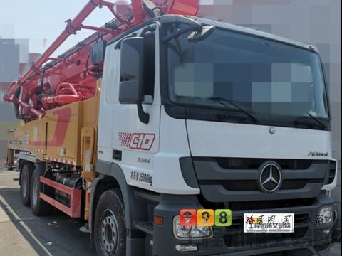 全新豪车出售2021年出厂三一奔驰52米泵车(一方未打)