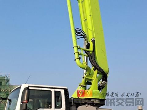 准新车转让2021年出厂中联汕德卡49米泵车(一万方)