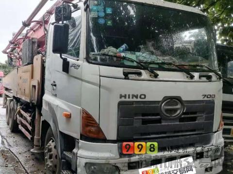 出售精品2012年三一日野46米泵车