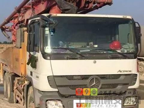极品出售12年底三一奔驰46米泵车(8万方)(暂不出售)
