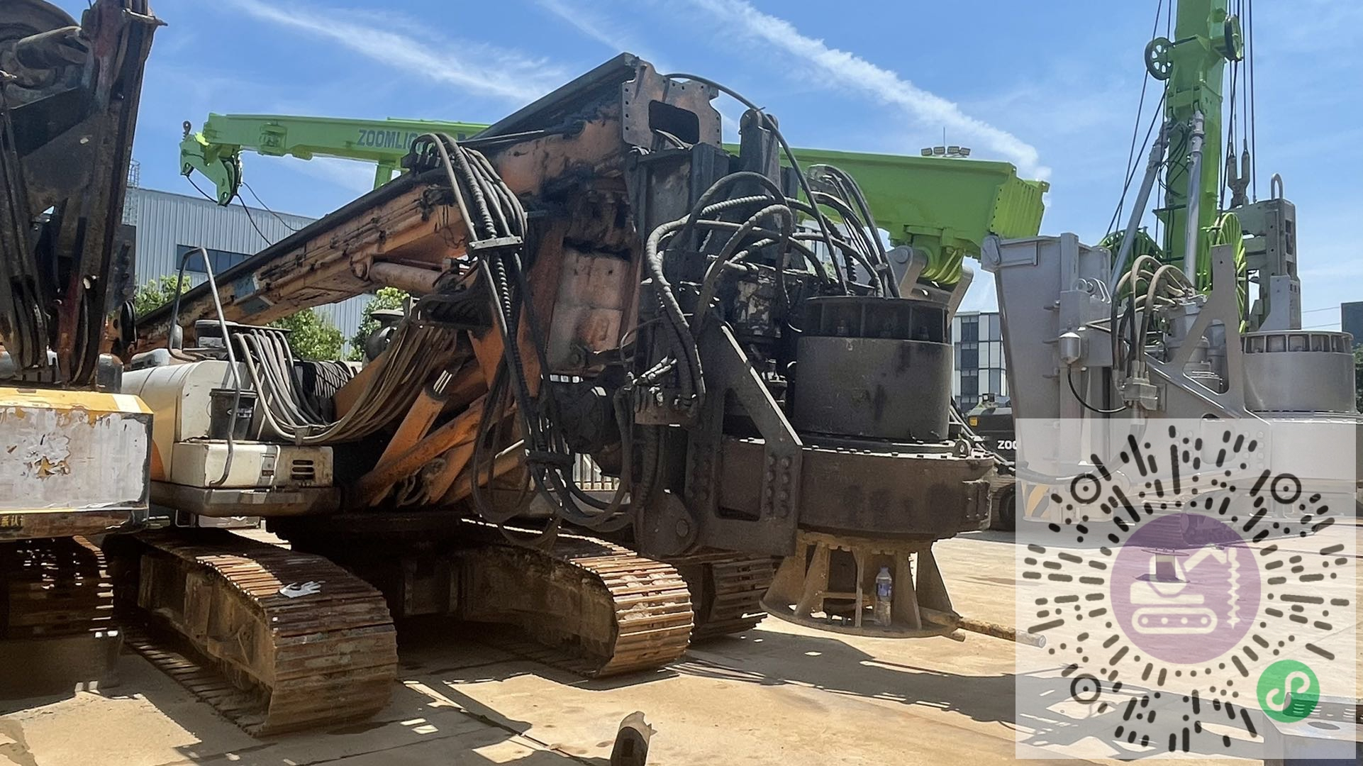 转让中联重科2014年160旋挖钻机