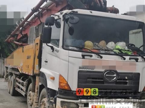 精品出售12年出厂三一日野56米泵车