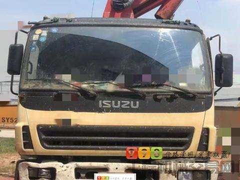 车主出售04年三一五十铃37米泵车