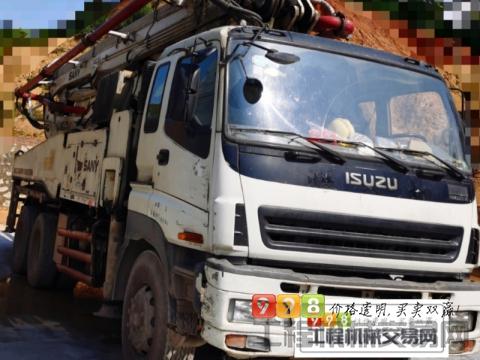 出售2010年三一五十铃底盘46米泵车